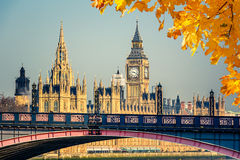 Big Ben and Houses of Parliament. London Stock Image