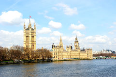 Big Ben and the Houses of Parliament in London Stock Images