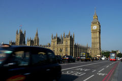 Big ben and houses of parliament in london Stock Photo
