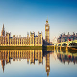 Big Ben and Houses of parliament, London Royalty Free Stock Photography