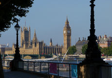 Big ben and houses of parliament,london Royalty Free Stock Image
