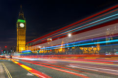 Big Ben and the Houses of the Parliament in London, England Royalty Free Stock Photos