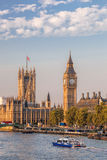 Big Ben and Houses of Parliament in London, England, UK Royalty Free Stock Images