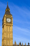 Big Ben (Houses of Parliament) in London Royalty Free Stock Images