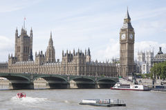 Big Ben and the Houses of Parliament, London Royalty Free Stock Image