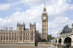 Big Ben and the Houses of Parliament, London Royalty Free Stock Photo