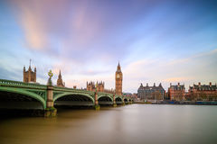 Big Ben and Houses of parliament Stock Photography