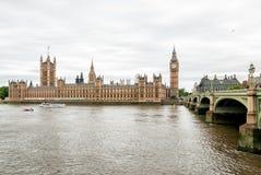 Big Ben and Houses of Parliament, London. Stock Photos