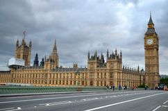 Big Ben and Houses of Parliament, London, UK.  Stock Photos