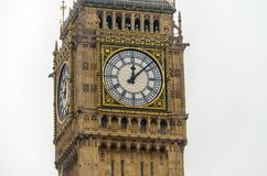The Big Ben, Houses of Parliament,. London, UK royalty free stock photography