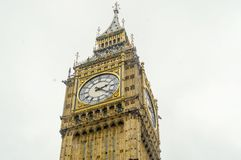 The Big Ben, Houses of Parliament,. London, UK stock image