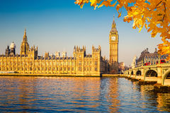 Big Ben and Houses of parliament, London. Big Ben and Houses of parliament in London, UK Royalty Free Stock Image