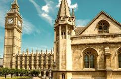 Big Ben and Houses of Parliament - London, UK Stock Photos