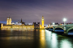 Big Ben and Houses of parliament. London, UK stock photography