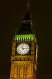 Big Ben on Houses of Parliament Stock Photos