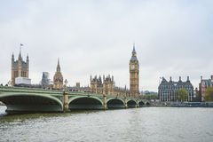 Big Ben and Houses of Parliament, London. UK Royalty Free Stock Photos