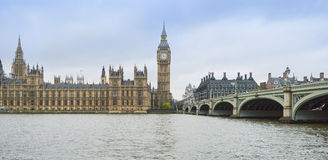 Big Ben and Houses of Parliament, London. UK Royalty Free Stock Photo