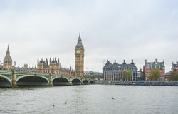 Big Ben and Houses of Parliament, London. UK Stock Photo