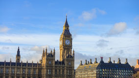 Big Ben and Houses of Parliament. In London, UK Stock Photo