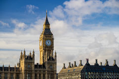Big Ben and Houses of Parliament. In London, UK Royalty Free Stock Photos