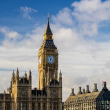 Big Ben and Houses of Parliament. In London, UK Royalty Free Stock Photo