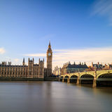 Big Ben and Houses of Parliament. In London, UK Royalty Free Stock Photography