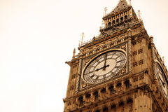 Big Ben and Houses of Parliament in London. UK Royalty Free Stock Image