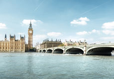 Big Ben and Houses of Parliament, London. UK Stock Images