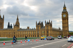 Big Ben and Houses of Parliament, London, UK Stock Photos