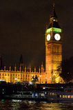 Big Ben and Houses of Parliament, London, UK.  Royalty Free Stock Images