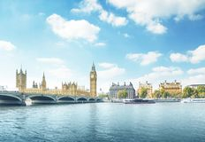 Big Ben and Houses of Parliament, London Stock Photos