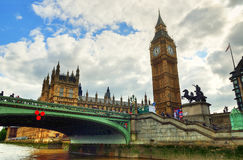Big Ben and Houses of Parliament, London, UK Stock Images