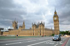 Big Ben and Houses of Parliament, London, UK.  Stock Photography