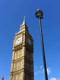 Big Ben and Houses of Parliament in London, UK. Royalty Free Stock Photo