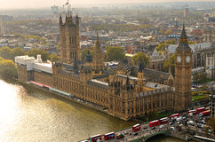 Big Ben and Houses of Parliament, London, UK Royalty Free Stock Photography