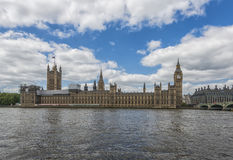 Big Ben and Houses of Parliament in London Stock Images