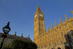 Big Ben and Houses of Parliament Royalty Free Stock Photography