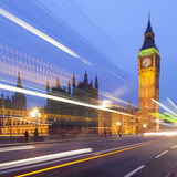 Big Ben and Houses of Parliament at night Stock Photography