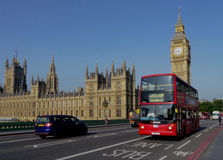 Big ben and the houses of parliament Royalty Free Stock Images