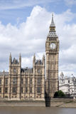 Big Ben and the Houses of Parliament with the River Thames, Lond Royalty Free Stock Photography