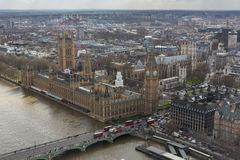 Big Ben, Houses of Parliament, and Westminster Abbey Royalty Free Stock Photography