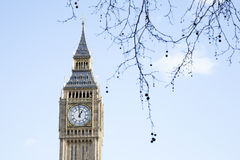 Big Ben and the Houses of Parliament, Westminster, London Stock Photography