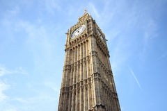 Big Ben Houses of Parliament Westminster Palace London gothic ar Stock Photos