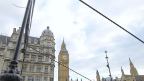 BIG BEN And The Houses Of Parliment stock footage