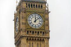 Big Ben, hus av parlamentet, Royaltyfri Fotografi