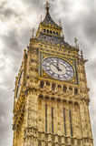 Big Ben, hus av parlamentet, London Royaltyfri Fotografi