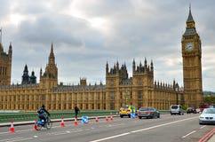 Big Ben i domy parlament, Londyn, UK Zdjęcia Stock