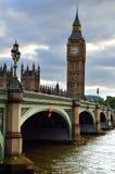Big Ben i domy parlament, Londyn, UK Zdjęcie Royalty Free