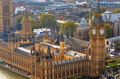 Big Ben i domy parlament, Londyn, UK Fotografia Stock