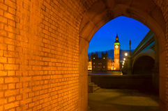 Big Ben i domy parlament w Londyn, Anglia Zdjęcie Stock